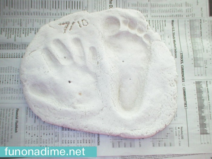 P1010007Homemade Hand and Foot Mold Recipe
