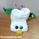 Creative Washcloth Easter Bunny and Homemade Easter Basket Ideas