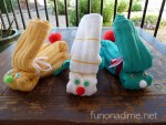 Dishtowel and Washcloth Bunny Tutorial