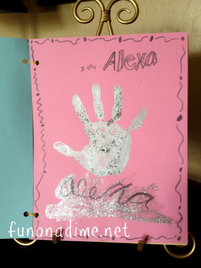 Mother's Day Handprint Gifts