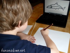 How to teach children drawing