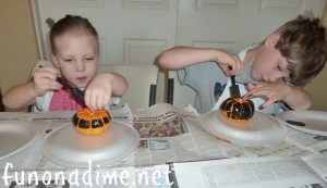 Homemade Halloween Decor for kids