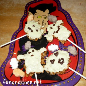 Chocolate Crispy Marshmallow Halloween Treats