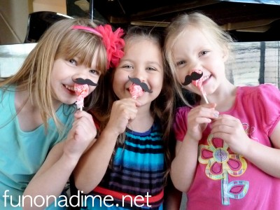 Mustache Valentines Day Treats