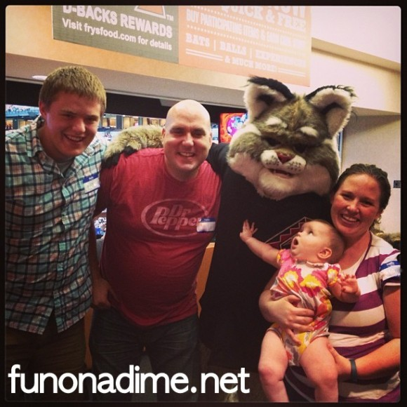 Funonadime at D-backs game