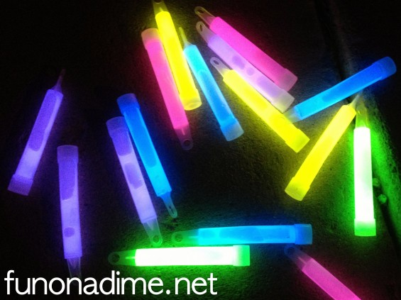 Alternative uses for light sticks