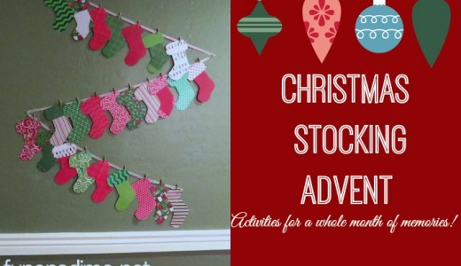 Advent Stockings – Christmas Traditions {Part 1}