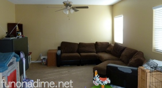 Family Room redecorating on a budget