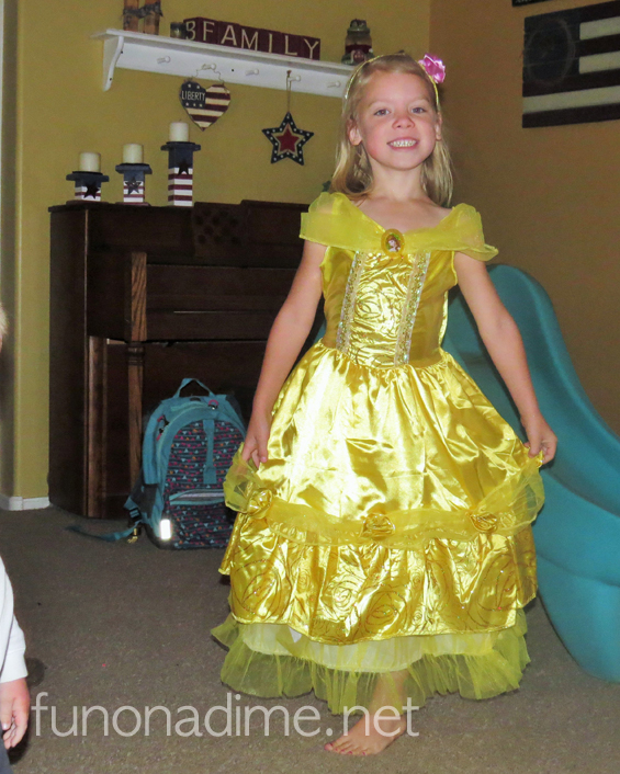 Disney Costume Review - Belle 1