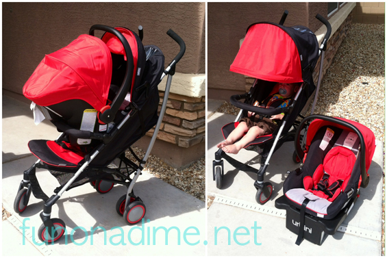 Urbani Stroller Review full set