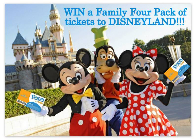 Win Disneyland Tickets when purchasing a Pogo Pass with promo code FUN at pogopass.com
