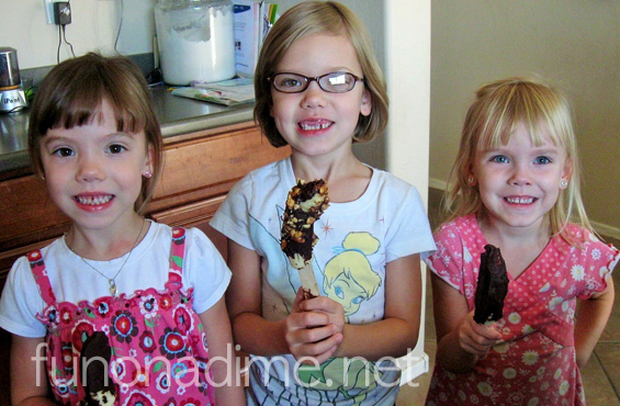 Chocolate Covered Bananas {Kids in the Kitchen}