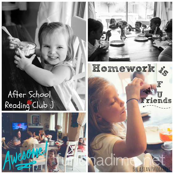 After school reading club for kids. Great way to make reading exciting for your children