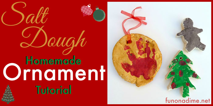 Salt Dough Christmas Ornaments Tutorial