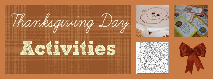 Thanksgiving Day Party Activities