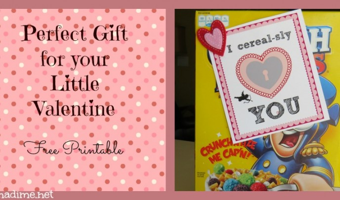Valentine Gift for Kids {free printable}