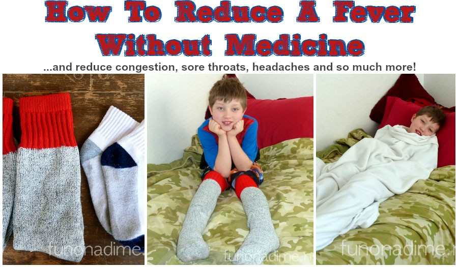 Wet Socks – How To Reduce a Fever Without Medicine