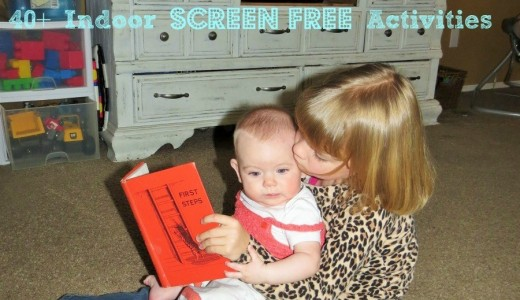 40+ indoor screen free activities