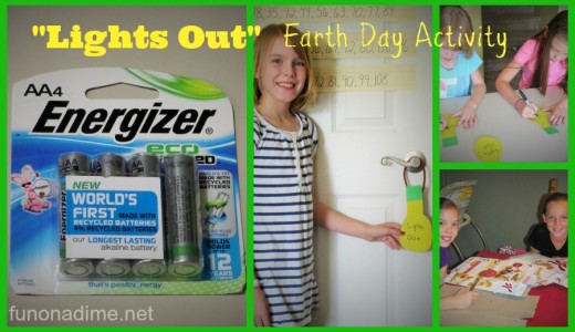 Earth Day Activity Lights Out #BringingInnovation #Ad @Walmart