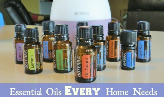 Essential Oils EVERY Home Needs and what to do with them!! {Giveaway}